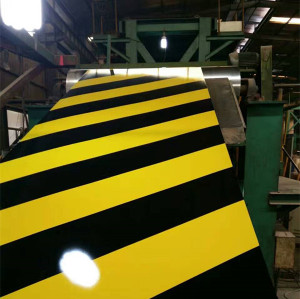 warning tape pre-painted galvanized steel sheet