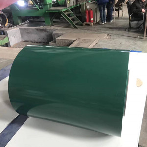 Full hard Prepainted GI Steel Coil / PPGI / PPGL Color Coated Galvanized Steel Sheet