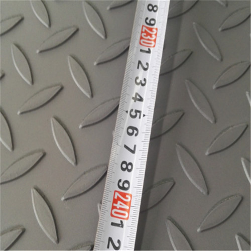 China suppliers favourable price ms anti-slip steel plate with 6mm