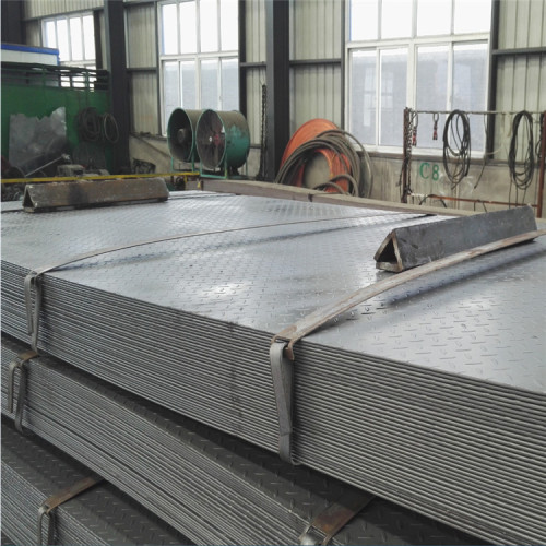 Competitive price hot sale hot rolled checkered steel sheet