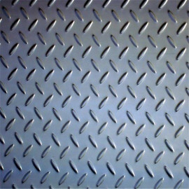 MS Carbon Steel Tear Drop Chequered S275jr SS400 A36 Q235 Checkered Steel