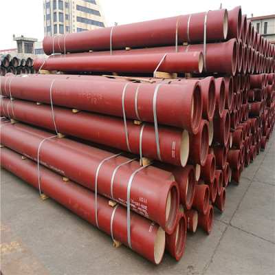 Ductile Iron Material and DN80-DN1200mm Diameter ductile iron pipes k7 used for sewage pipeline