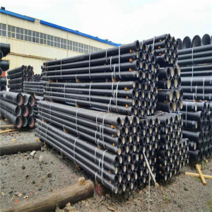 Manufacturers of C25, C30, C40 K9 Ductile Iron pipe in China