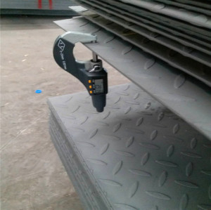 hot rolled pattern steel plate