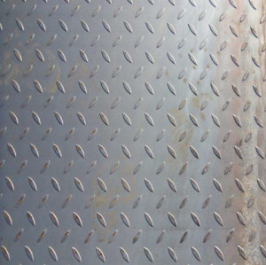 3/6/8/10/12*1219*2438mm ms plate tear drop steel plate