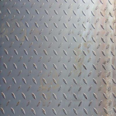 3/6/8/10/12*1219*2438mm ms plate tear drop steel plate