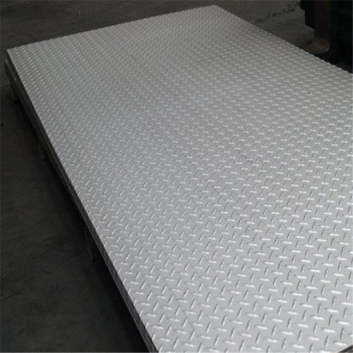hot rolled A36 S235JR steel checker plate checkered plate price