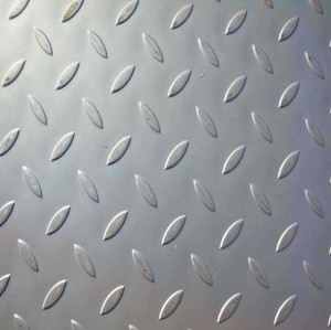 China tear drop pattern steel plates 3*1000*2000 to Israel