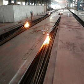 Hot rolled steel plate for ship building