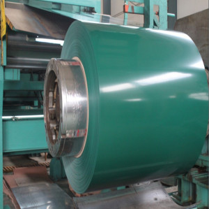 PPGI PPGL Color Coated Galvanized Steel Coil from Tangshan China