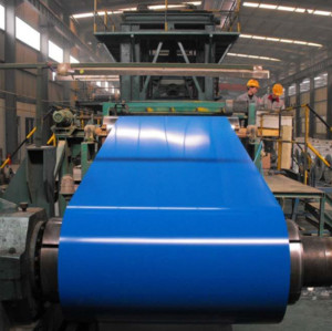 Metal Roofing Sheets Building Materials PPGI Steel Coils, Color Coated Steel Coil