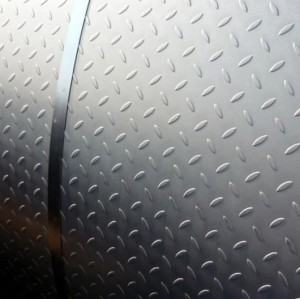 3*1220*2440mm Q235 mild steel checker plate