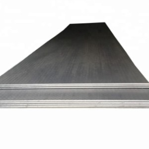 hot rolled steel  for  Industrial plant