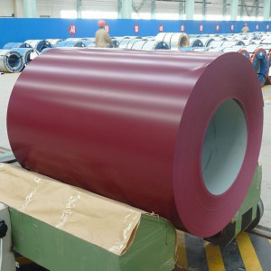 Building material prepainted galvanized steel coil for roofing sheet