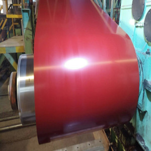 0.4x1250mm PPGI PPGL prepainted galvanized steel coil for building materials