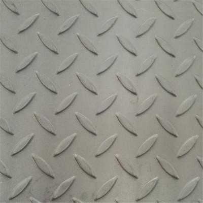 Q235B A36 SS400 S235JR St37 pattern floor skid checkered steel plate Tangshan High Quality