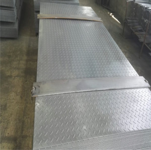 A36 S235JR steel checker plate checkered plate price