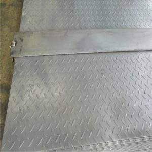 2348mm / custom cut Q195, Q235, Q345 Hot Rolled Sheet / Checkered Steel Plate