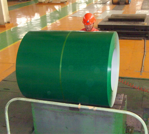 Roofing PPGI steel coil before corrrugation