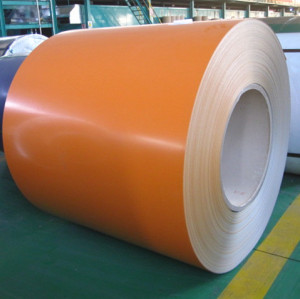 Pre painted galvanized steel coils (PPGI)