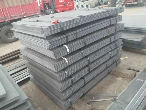 standard steel plate thickness checker plate