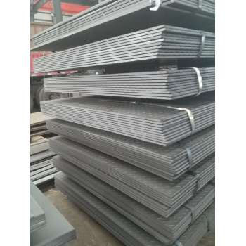 Tangshan manufacturer for anti-slip checkered steel plate for floor