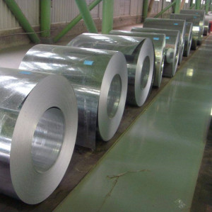 ASTM A653 DX52D GI coil Hot dipped galvanized steel iron coil
