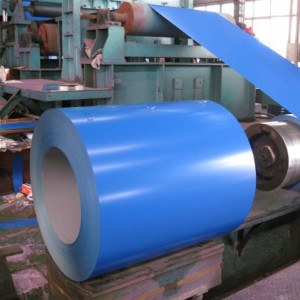 0.4x1250mm PPGI PPGL prepainted steel coil for building materials Rentai steel supply