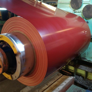 Color coated steel coil cold rolled Pre painted galvanized steel coil PPGI