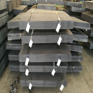 China Tianjin A36 Q235B S275 SS400  Anti-slip Checkered MS Carbon Steel Plates