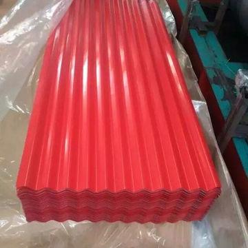 prepainted corrugated steel plate