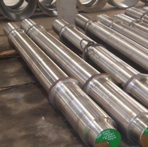 Work Roll Backup Roll Step Shaft Mian Shaft Forged Steel Roller