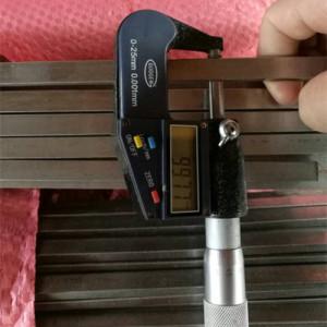 AISI 304 1.4301 SUS304 barra plana de acero inoxidable retirada a frío