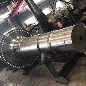 Generador de turbina forja de eje principal