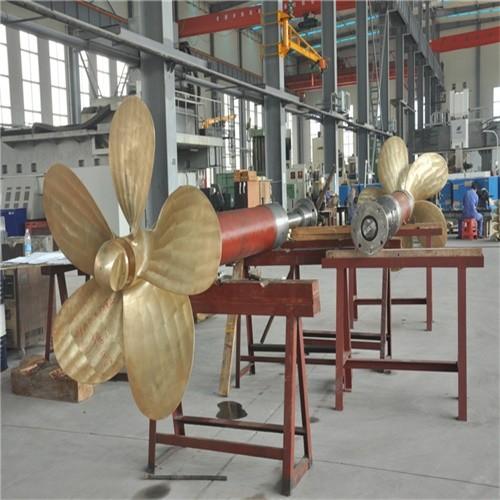 عالية الدقة CNC بالقطع المروحة رمح