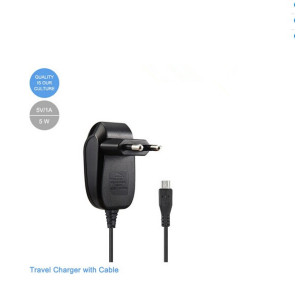 2A AC Wall Charger with 1.2m micro usb  cable Eu Plug BLACK 4 LG G4 G3 S G Flex PRO 2