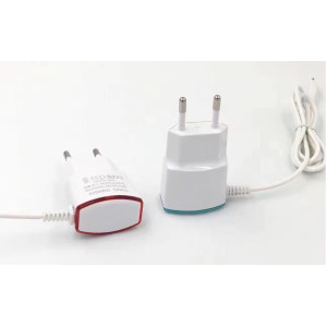 Good quality EU plug wall charger adapter with cable for mobile phone