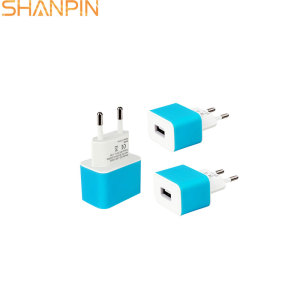 Shangpin portable travel type c usb wall phone charger 1000mA