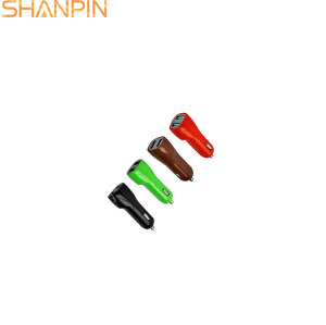 Shangpin mobile phone type c 2 port usb cable car charger