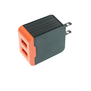 Shangpin portable custom mobile phone dual usb wall charger