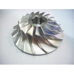 Mecanizado CNC de 5 ejes y piezas de impulsor de precisión de mecanizado CNC personalizado de OEM