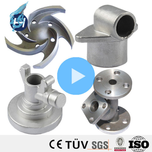 Vanne à bille fixe de pièce de coulée de zinc de pièce de zinc de qualité de la Chine