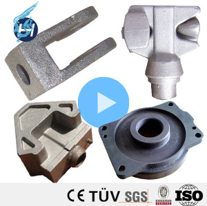 China Quality Plunger Valve Zinc Casting Part Fixed Ball Valve
