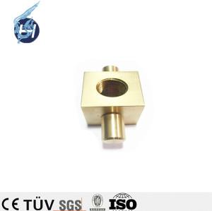 Chinois de haute qualité service d'usinage personnalisé ISO 9001 OEM fabricant de pièces de laiton de haute précision en cuivre rouge produits de cuivre pour machine d'emballage