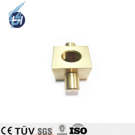 Chinesische hochwertige kundenspezifische Bearbeitungsservice ISO 9001 OEM-Hersteller hochpräzise Kupfer-Messing-Teile rot Kupferprodukte für Verpackungsmaschine