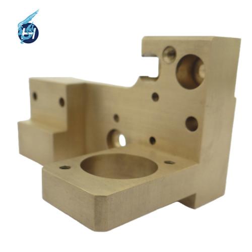 Chinesische hochwertige maßgeschneiderte Bearbeitungsservice ISO 9001 OEM-Hersteller hochpräzise Kupfer-Messing-Teile