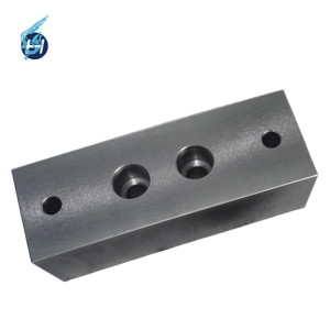 Different color anodizing spare parts customized cnc machining galvanized parts products surface treatment black