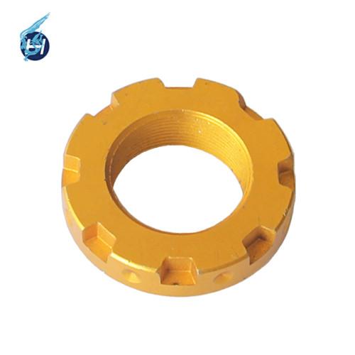 Chinesische Herstellung OEM-Service Blaue anodische Oxidationsprodukte Schwarz Bunte Oberflächenbehandlung