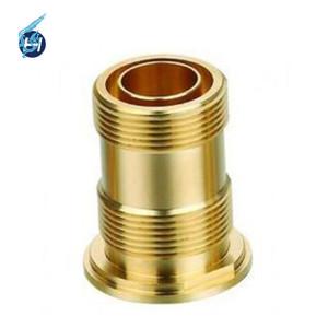Piezas de latón de cobre de alta precisión China Qiality alto servicio de mecanizado personalizado ISO 9001 fabricante OEM