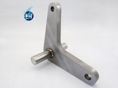 金属板溶接部品と機械加工後溶接部品